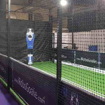 Leverage iRoboGoalie - Intelligent Robot GoalKeeper